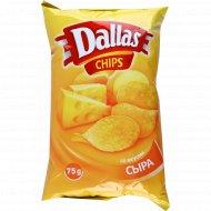 Чипсы картофельные «Dallas» со вкусом сыра, 75 г.