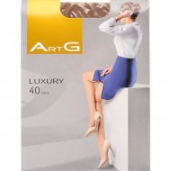Колготки женские «Art G» luxury 40, caramel, размер 4-L