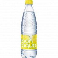 Вода питьевая, газированная «Bonaqua» лимон, 0.5 л.