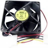 Вентилятор для корпуса FANCASE-4 «Gembird» 80x80x25