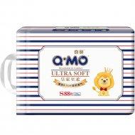 Подгузники «Q-MO» Royal Soft, размер S, 4-8кг, 88 шт