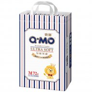 Подгузники «Q-MO» Royal Soft, размер M, 6-11кг, 72 шт