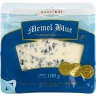 Сыр полутвердый «Memel blue» плесенью 50%,100 г.