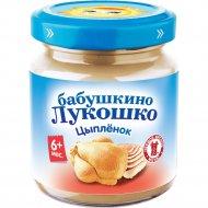 Пюре «Бабушкино Лукошко» цыпленок, 100 г