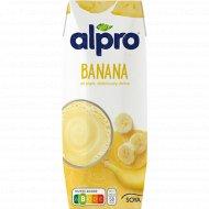 Напиток соевый «Alpro» банан, 250 мл.
