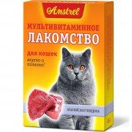 Лакомство мультивитаминное «Альпийская говядина» для кошек, 90 шт.