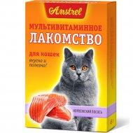 Лакомство мультивитаминное для кошек «Норвежский лосось» 90 таблеток.