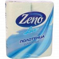 Полотенца бумажные «Zeno Lux» 2 рулона.