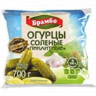 Огурцы солёные «Овощной Край» пикантные, 700 г.