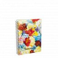 Скетчбук «Цветы» 01191.
