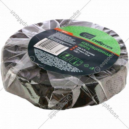 Изолента на хлопчатобумажной основе, 18 мм.х10 м, 100 г.