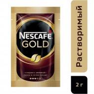 Кофе растворимый «Nescafe» Gold, с добавлением молотого, 2 г