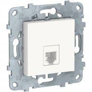 Розетка телефонная «Schneider Electric» Unica New, NU549218