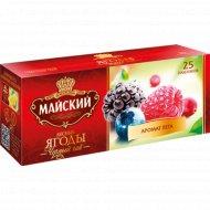 Чай черный «Майский» с ароматом лесных ягод, 25 пакетиков.