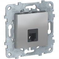 Розетка телефонная «Schneider Electric» Unica New, NU549230
