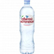 Вода питьевая «Святой источник» негазированная, 1 л.