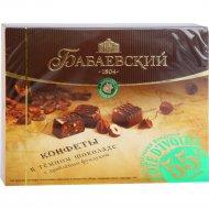 Конфеты шоколадные «Бабаевский» с дробленым фундуком, 170 г.