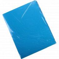Папка «OfficeSpace» с зажимом синяя.