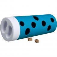 Игрушка для собаки «Trixie» в виде катушки с отверстиями для лакомств.
