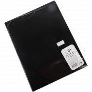 Папка «OfficeSpace» с зажимом черная.