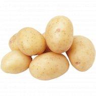 Картофель ранний, мытый, 1 кг, фасовка 2.7-2.5 кг