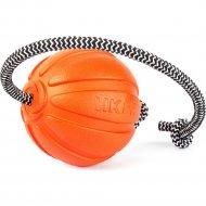 Тренировочный снаряд «Liker cord» в виде мячика на веревке, 9 см.
