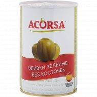 Оливки зеленые «Acorsa» без косточек, 425 г
