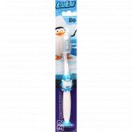 Детская зубная щетка «32 Жемчужины» синяя.