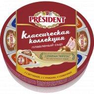 Сыр плавленый «President» ассорти 45 %, 140 г