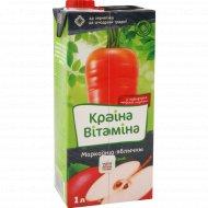 Нектар «Краина Витамина» морковно-яблочный, 1 л.