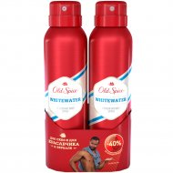 Дезодорант аэрозоль «Old Spice» Whitewater, 2x150 мл