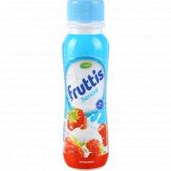 Напиток йогуртный «Fruttis» клубника 0.1 %, 285 г.