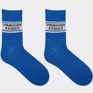 Носки женские «Mark Formelle» синие, размер 25.