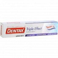 Зубная паста «Dentax» тройной эффект 100 г.