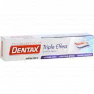 Зубная паста «Dentax» тройной эффект, 100 г.