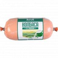 Колбаса вареная из мяса птицы «Со сливками» 410 г.