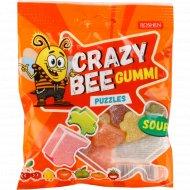 Конфеты желейные «Crazy Bee Gummi Puzzles» 100 г.