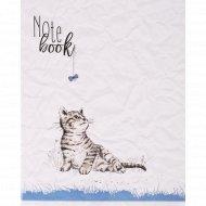 Тетрадь «Котенок с бантиком» А5, клетка, 48 листов