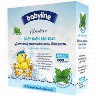 Детская морская соль для ванн с крапивой, 1000г (4х250г).