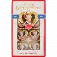 Конфеты шоколадные «Reber mozart herz'l» 80 г
