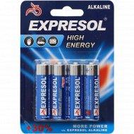 Батарейки BR-2784 щелочные, AA 1.5 V R6 ALKALAINE, 4 шт.