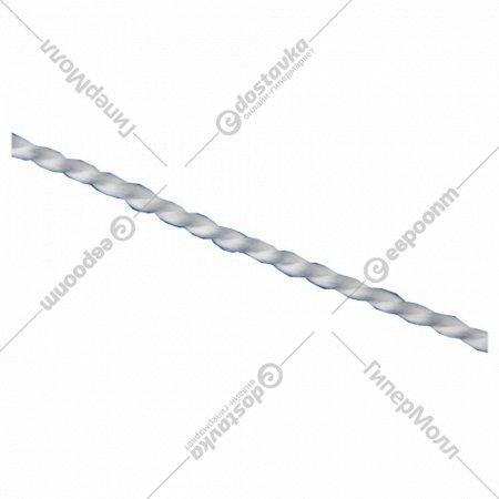 Шнур кручёный капроновый, 1.5 мм, L 100 м.