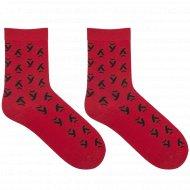 Носки женские «Mark Formelle» темно красные, размер 23.