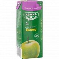 Сок «Ложка в ладошке» яблочный, 200 мл