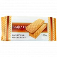 Вафли «Невские» сливочно-ванильные 180 г