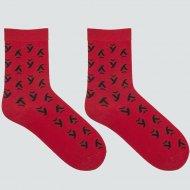 Носки женские «Mark Formelle» темно красные, размер 25.