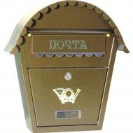 Ящик почтовый «GreenTerra» SO2, золото