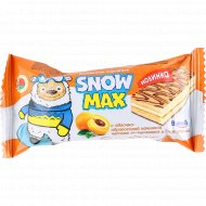 Пирожное бисквитное «Snow max» с яблочно-абрикосовой начинкой, 30 г.