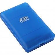 Бокс для жесткого диска «AgeStar» 3UBCP3, голубой