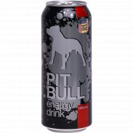 Напиток энергетический «Pit Bull energy» 0.5 л.
